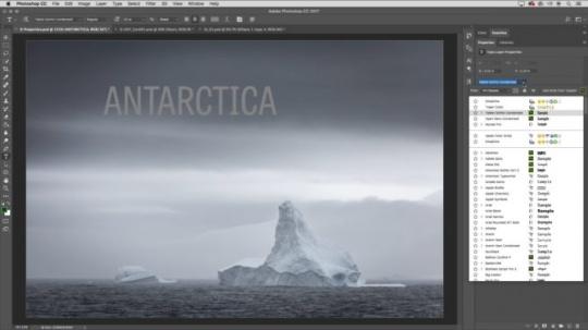 Adobe Photoshop CC 2017 Mac中文破解版