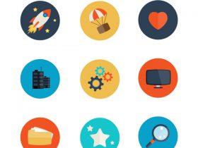 35+扁化平UI网页设计资源